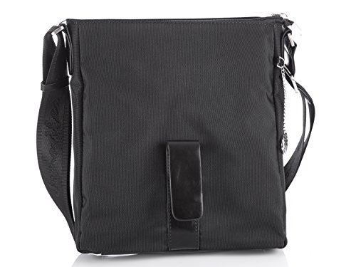 Jennifer Jones , Borsa Messenger  Uomo nero nero