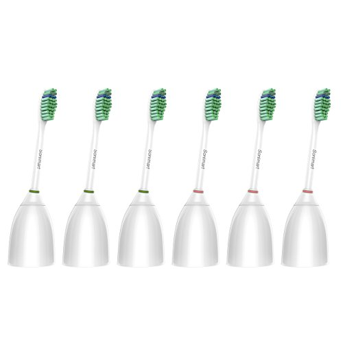- Sonimart Standard Replacement Toothbrush Heads for Philips Sonicare e-Series HX7022, 6 pack, fits Sonicare Advance, CleanCare, Elite, Essence and Xtreme Philips Brush Handles
