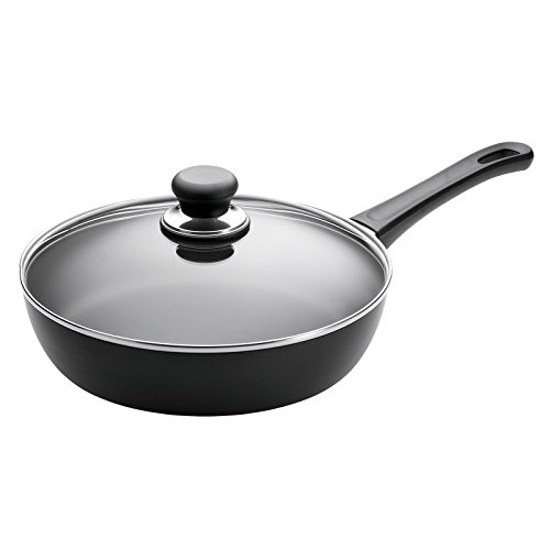 10.5'' Covered Saute Pan by Scanpan