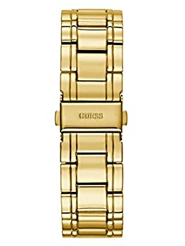 Guess Women's Stainless Steel Crystal Accented Bracelet Watch, Color: Gold-tone (Model: U0628l2) 2