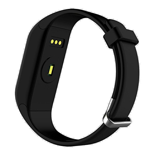 Smart Fitness Tracker - Anmier Heart Rate Fitness Watch Step Track & Sleep MonitorActivity Tracker Waterproof Touch Screen Pedometer Calorie Counter Fitness Bracelet for iPhone & Android phones