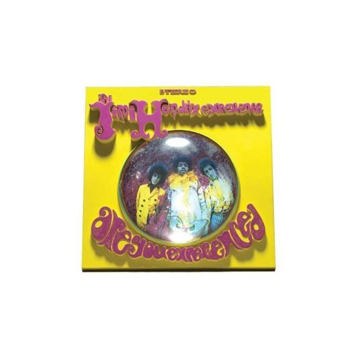Jimi Hendrix Are You Experienced 12940 B000FO4LIS McFarlane Toys 3D Album Cover
