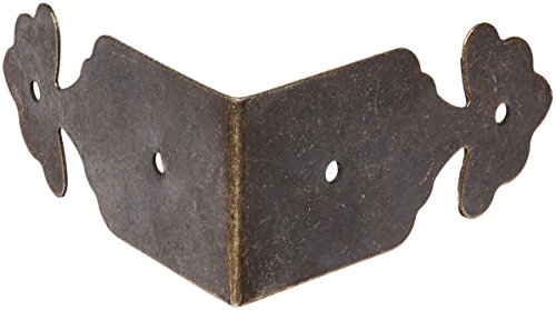 Furniture Corner Protector Bracket Bronze