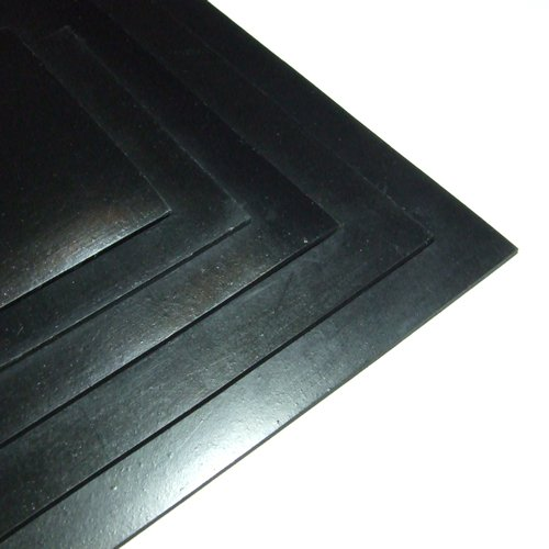 BLACK NEOPRENE PLAIN SPONGE//FOAM RUBBER SHEET 300MM X 300MM X 3MM THICK
