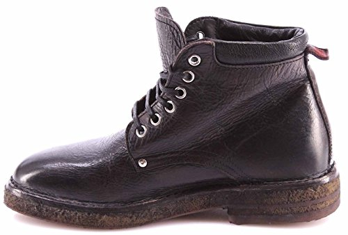 Chaussures Femme Bottines MOMA Ankle Boots 72503-2A Ravellone Nero Noir Vintage