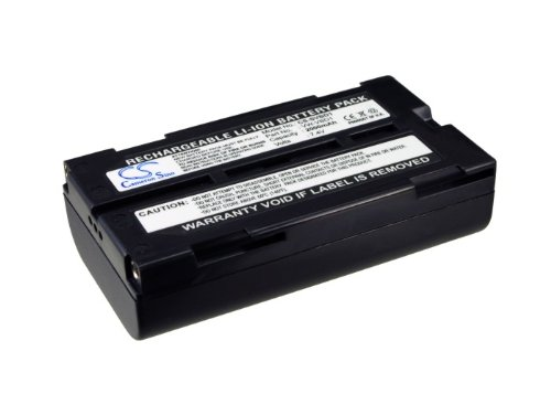 (Battery Replacement for PANASONIC NV-GS80EG-S NV-GS80E-S NV-GS85 NV-MX500A PV-GS120 PV-GS180 PV-GS19 PV-GS200 PV-GS29 PV-GS300 PV-GS33 PV-GS34 PV-GS35 PV-GS400)
