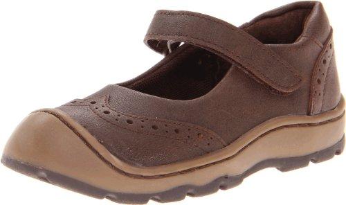 Jumping Jacks Malinda Mary Jane (Toddler/Little Kid),Brown Gusto Leather,10 W US Toddler