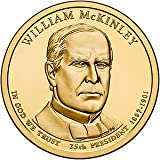 William Mckinley 2013 D Uncirculated Mint Wrapped - Roll 25 by Rare Coins
