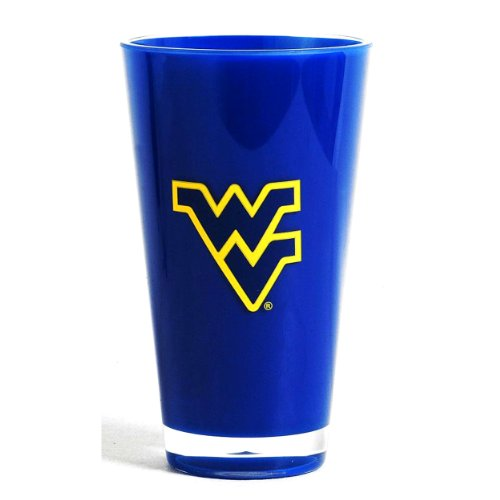 NCAA West Virginia Mountaineers Single Tumbler, 20-Ounce