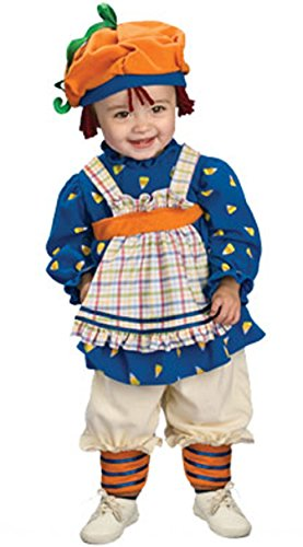 Girl Halloween Ragamuffin Toddler Costume - Toddler (1/2T)