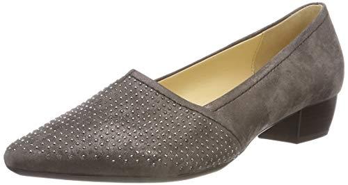63 Femme Dark Fango Gabor Basic Wrxxnftrf Shoes Escarpins Gris IAawpp