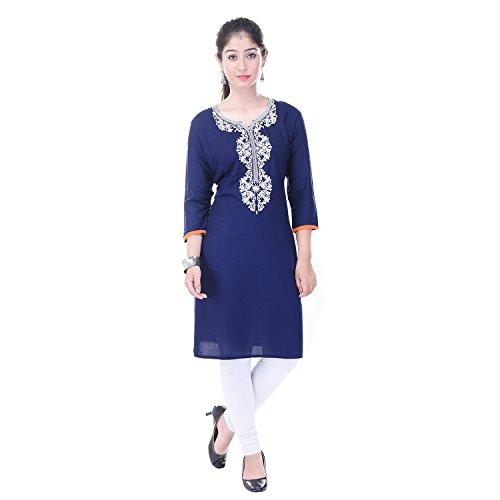 c637b3efd4052 ... Bollywood Indian Designer Latest Designer Jaipuri 100% Cotton Kurti  Kurta Party Wear Designer kurties for