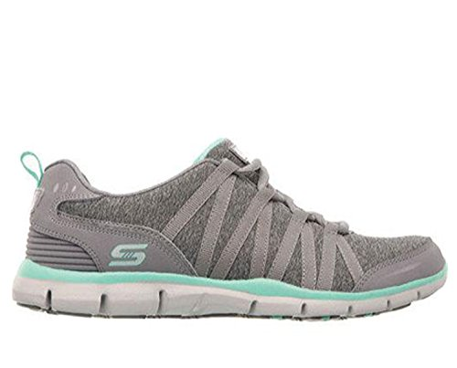 Skechers Aqua Size Running Women's Gray Empower Shoes YxIYrqTw