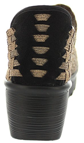 best wholesale for sale deals cheap online Bernie Mev Women's Lulia Wedge Pump Bronze cheap visa payment bMA5D