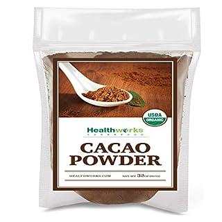 Healthworks Cacao Powder (32 Ounces / 2 Pounds) | Cocoa Chocolate Substitute | Certified Organic | Sugar-Free, Keto, Vegan & Non-GMO | Peruvian Bean/Nut Origin | Antioxidant Superfood (B00JVWJR70) | Amazon price tracker / tracking, Amazon price history charts, Amazon price watches, Amazon price drop alerts