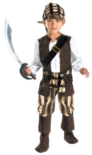 Rogue Pirate Costume Child Toddler