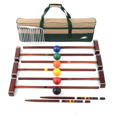 Lion Sports Platinum 6 Player Croquet Set, 33-Inch by Lion Sports