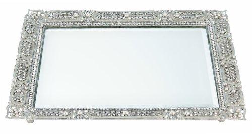 Olivia Riegel Czarina Beveled Mirror Tray by Olivia Riegel