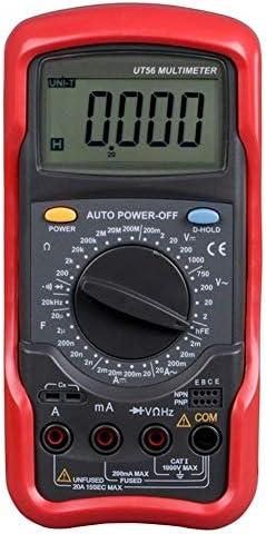 Sbeautli Multimeter Pocket Digital Multimeter Voltmeter Ammeter with Backlight LCD for Factory Portable Professional Oscilloscope Kit