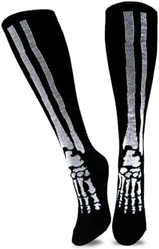 Underwear & Sleepwears Enthusiastic Funky Men Pumpkin Dress Socks Novelty Funny Unisex Halloween Dark Green Casual Long Sock For Large Size