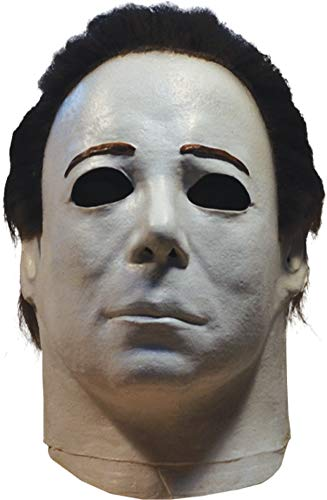 Trick Or Treat Studios Michael Myers Mask - Halloween 4, Halloween Costumes Accessory, for Adults, One Size (Halloween 4 The Return Of Michael Myers 1988)