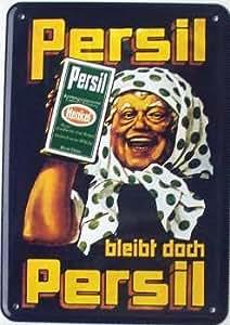 Persil Permanece pero Persil (Abuela) Chapa Postal