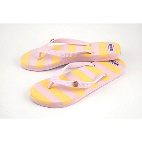 Damen Flip Flops div. Farben gelb/rosa