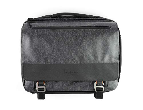 ETCHR Art Satchel - The Ultimate Multi-Functional Professional Art Bag and Mobile Portfolio Workstation in 1 - Tripod Mountable - Vegan-Friendly - The Perfect Weatherproof Tool Management System