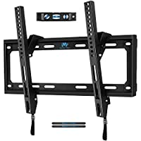 Mounting Dream MD2268-MK TV Wall Mount Tilting Bracket for Most 26-55 Inch LED, LCD and Plasma TVs up to VESA 400 x 400mm and 88 LBS Loading Capacity, with Torpedo Level