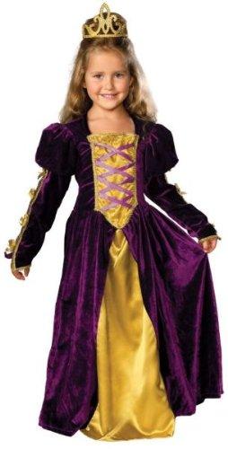 Rubie's Girl's Regal Queen Costume