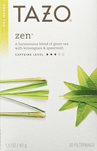 TAZO Tea Green, 20 BAGS (Pack of 6)