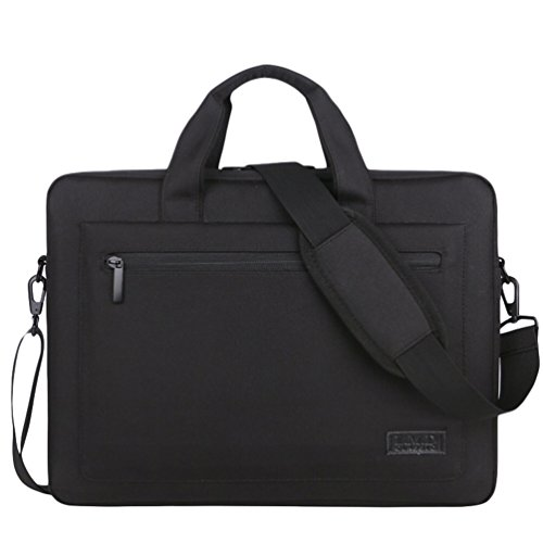 Laptop 3 Bag Office For Black Travel Messenger Sunwanyi Shoulder Women Resistant Computer Men H7xq17tw