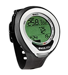 The new Mares Puck Pro+ Dive Computer is a reliable wrist computer for the recreational diver with intuitive features. The slim design in non-instrusive on your wrist, and has an adjustable wrist strap. One-button operation is easy-to-use, di...