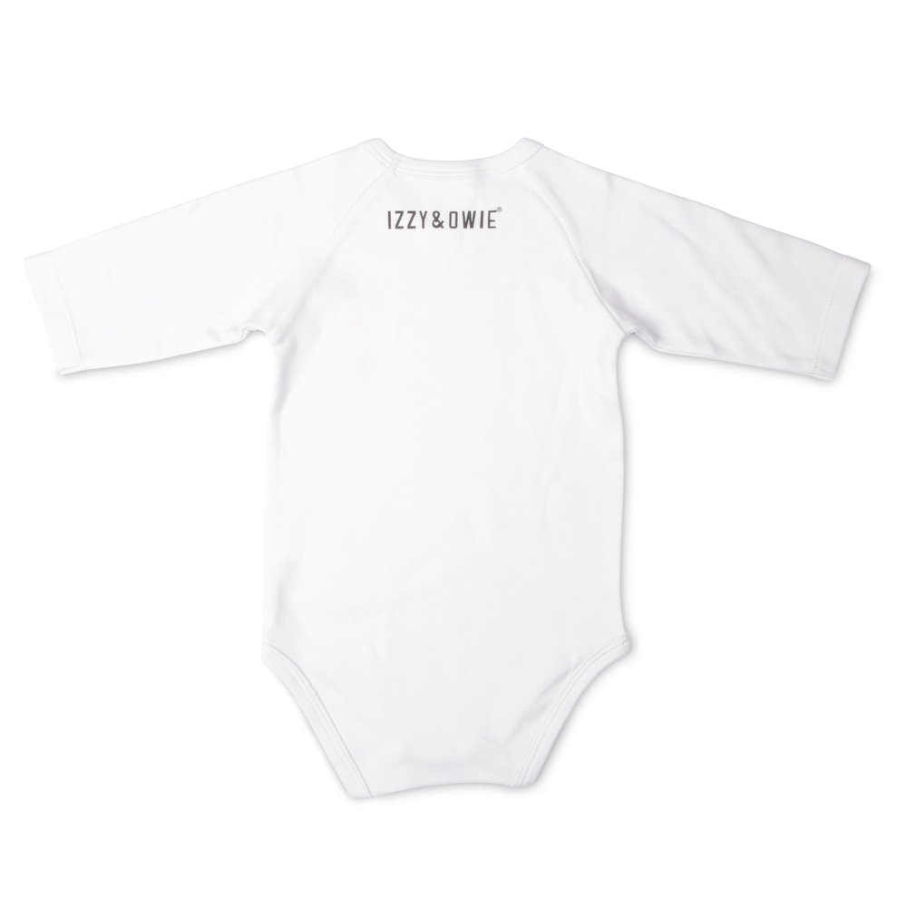 Izzy /& Owie Baby Boys 3//4 Sleeve
