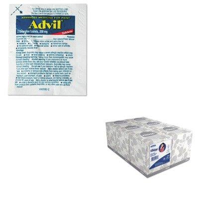 KITKIM21271LIL58030 - Value Kit - Advil Single-Dose Ibuprofen Tablets Refill Packs (LIL58030) and KIMBERLY CLARK KLEENEX White Facial Tissue (KIM21271)