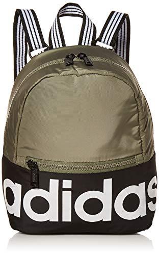 adidas Unisex Linear Mini Backpack, Legacy Green/Black/White, ONE SIZE