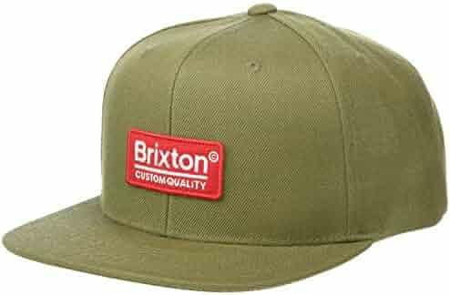 784b3065555 Brixton Men s Palmer Ii Medium Profile Adjustable Snapback Hat