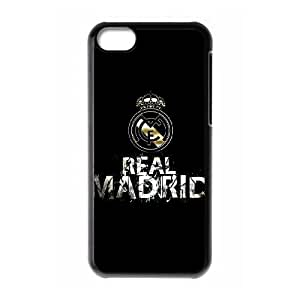 iPhone 5c Cell Phone Case Black Real Madrid as a gift J2284511