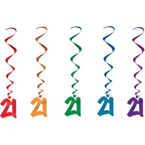 21 Whirls (asstd colors)    (5/Pkg)]()