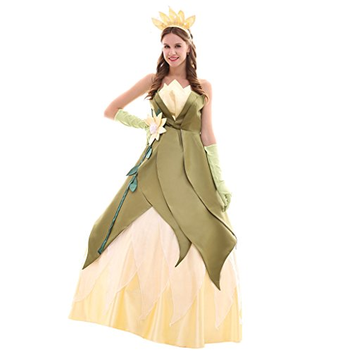 CosplayDiy Women's Elegant Princess Cosplay Costume Wedding Dress Adult -