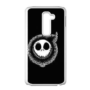 LG G2 Cell Phone Case White DEAD RINGER VIU179367