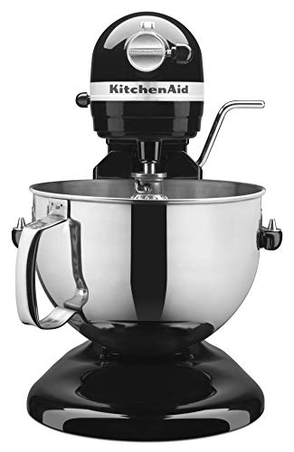 KitchenAid KP26M1XOB 6 Qt. Professional 600 Series Bowl-Lift Stand Mixer - Onyx Black