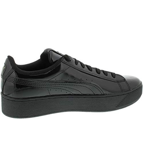 Nero Vikky Platform Patent Puma Sneakers Femme Basses BYpwvxn