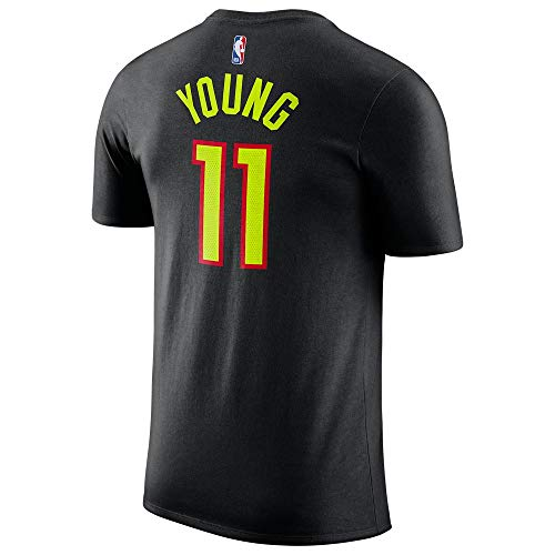 7717b42aed90 Outerstuff Trae Young Atlanta Hawks  11 Name and Number Youth T-Shirt (Large
