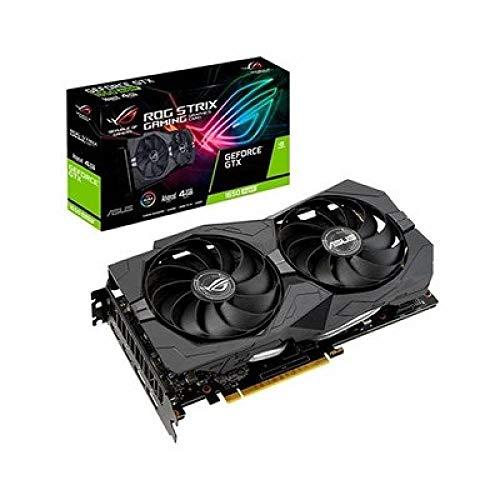 ASUS ROG Strix Nvidia GeForce GTX 1650 Super 4GB Advanced Edition Gaming Grafikkarte (GDDR6 Speicher, PCIe 3.0, 2x HDMI 2.0b, 2x DisplayPort 1.4, ROG-STRIX-GTX1650S-A4G-GAMING)