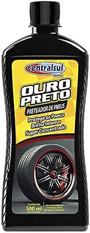 Centralsul Quimica Preteador De Pneus Ouro Preto 500Ml