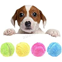 leegoal Electric Dog Ball, Non-Toxic Magic Roller Ball Dog Toy Pets Active Rolling Ball to Keeping Your Cat/Dogs Interested and Clean The Floor,5.25 Inches
