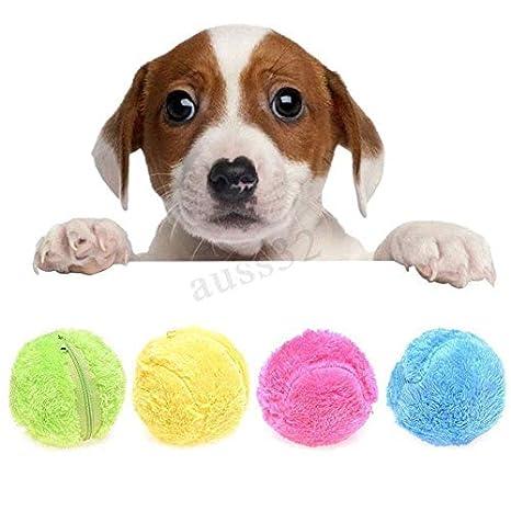 leegoal Pelota eléctrica para Perro, Bola mágica no tóxica, Juguete para Mascotas, Pelota