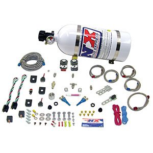 Nitrous Express 20218-12 GM TBI ALL (50-75-100-125HP) WITH 12 LB. COMPOSITE BOTT