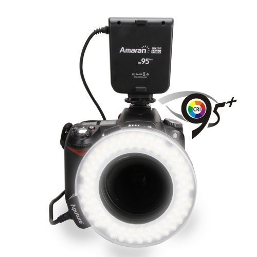 Aputure Amaran Halo AHL-H100 LED Ring Flash Light for Nikon Cameras by Aputure